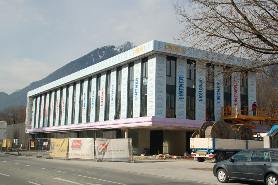 Fassade Stadtwerke Schwaz
