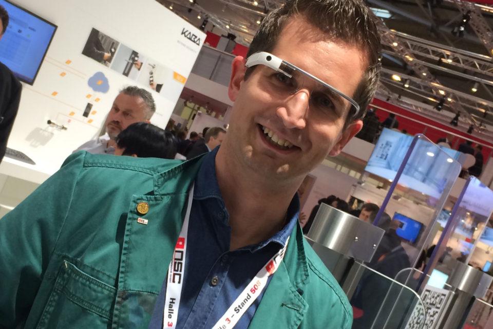 Ing. Markus Lintner mit Google-Brille