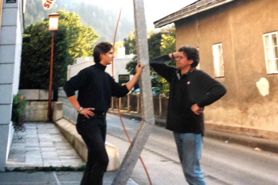 Markus und Kurt Lintner