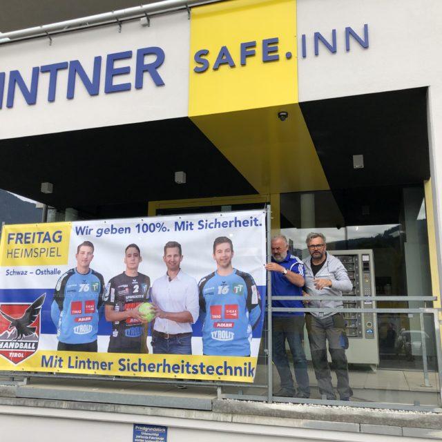 Handball Tirol beim SAFE.INN